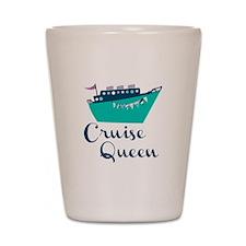 Cruise Queen Shot Glass