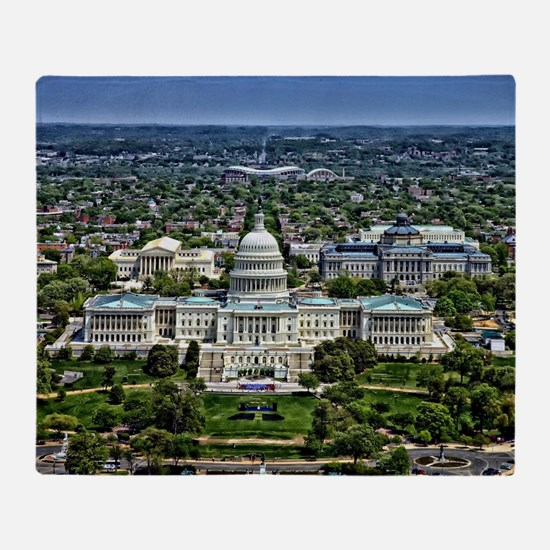 Capitol - Washington DC Throw Blanket