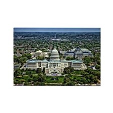 Capitol - Washington DC Rectangle Magnet