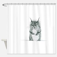 Unique Animals Shower Curtain