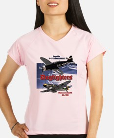 Dogfighters: P-47 vs Me109 Performance Dry T-Shirt