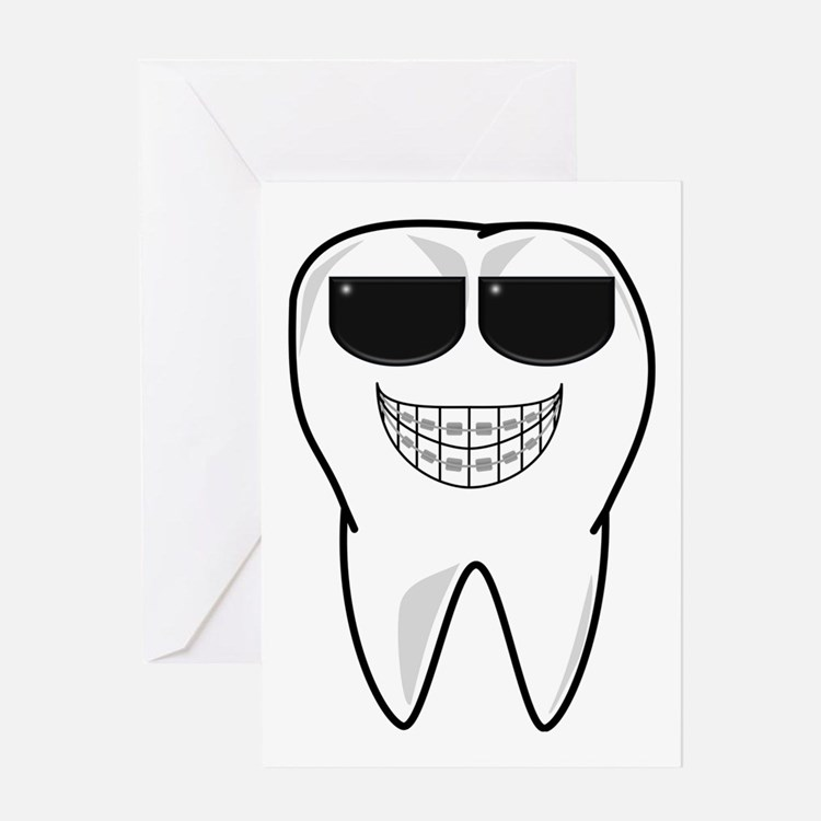 Cute Orthodontist Greeting Card