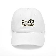 Funny Humorous Dad's Favorite Baseball Cap