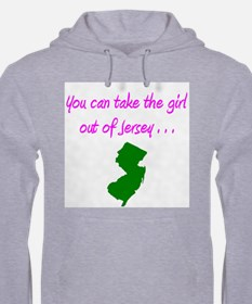 You Can Take Girl Out Of Jersey Jumper Hoody