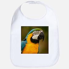 Unique Blue and gold macaw Bib