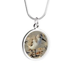 Sand Piper and Seashells Necklaces