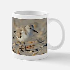Sand Piper and Seashells Mugs