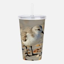 Funny Shore birds Acrylic Double-wall Tumbler