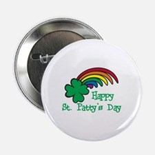 """Happy St Pattys Day 2.25"""" Button"""