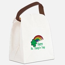 Happy St Pattys Day Canvas Lunch Bag