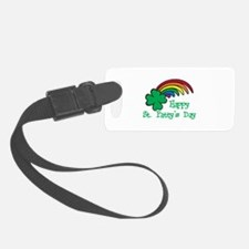 Happy St Pattys Day Luggage Tag