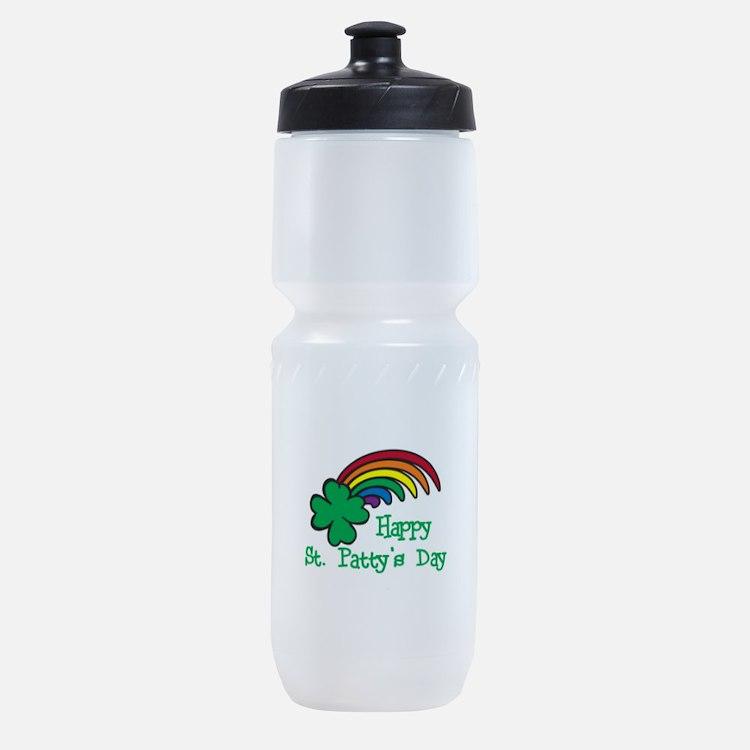Happy St Pattys Day Sports Bottle