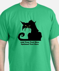 Angry Pissed Off Black Cat T-Shirt