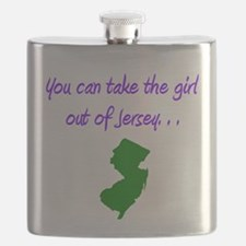 you can take girl out of Jersey purple 2 Flask
