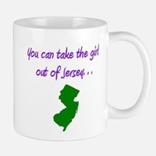 you can take girl out of Jersey purple 2 Mugs