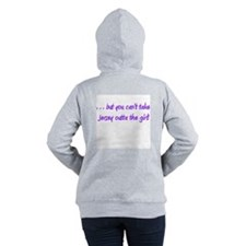 You Can Take Girl Out Of Women's Hooded Sweatshirt