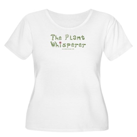 The Plant Whisperer Women's Plus Size Scoop Neck T
