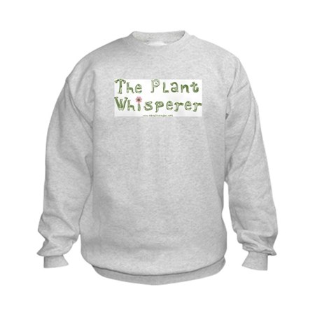 The Plant Whisperer Kids Sweatshirt