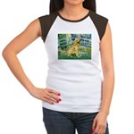 Bridge & Golden Women's Cap Sleeve T-Shirt