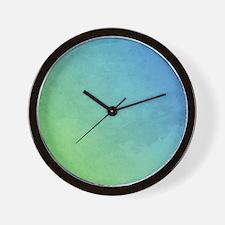 abstract pastel painting Wall Clock