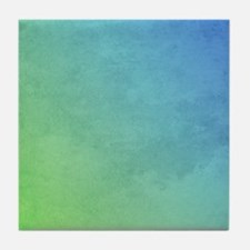 abstract pastel painting Tile Coaster