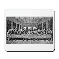 Last Supper Etching Mousepad