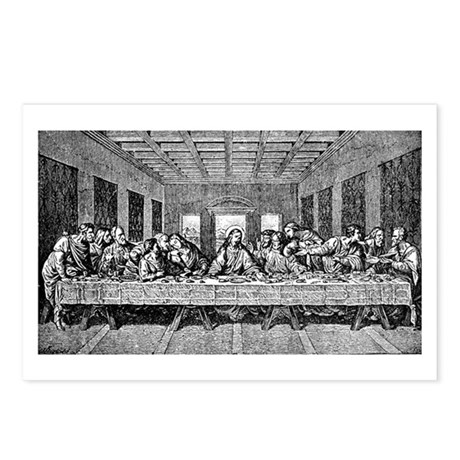 Last Supper Etching Postcards (Package of 8)
