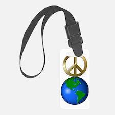 Unique Peace on earth Luggage Tag
