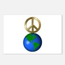 Cute World peace Postcards (Package of 8)