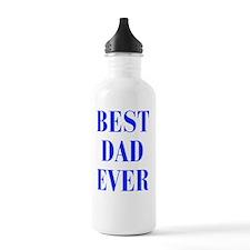 best-dad-ever-BOD-BLUE Water Bottle