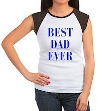 best-dad-ever-BOD-BLUE Women's Cap Sleeve T-Shirt