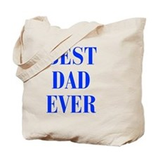 best-dad-ever-BOD-BLUE Tote Bag