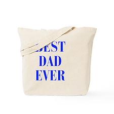best-dad-ever-BOD-BLUE Tote Bag