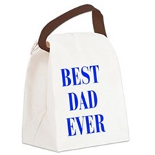 best-dad-ever-BOD-BLUE Canvas Lunch Bag