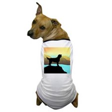 Labradoodle By The Sea Dog T-Shirt