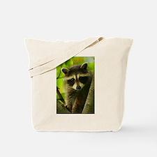 Unique Raccoon Tote Bag