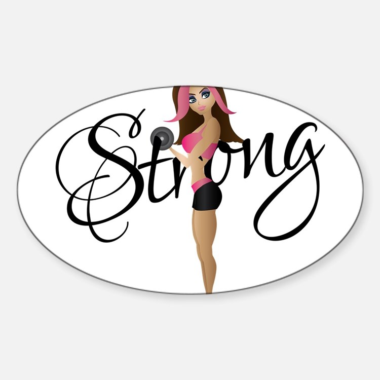 Cute Fitness Decal
