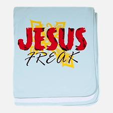 Funny Christian rock baby blanket
