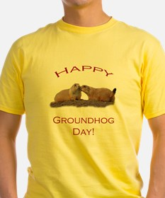 Groundhog Day Kiss T-Shirt