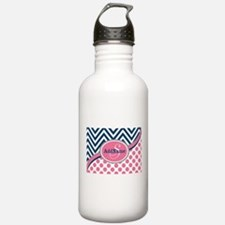 Bold Chevron Dots and Water Bottle