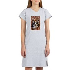 Cute Black and white color Women's Nightshirt