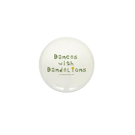 Dandelion Dancer Gardener Mini Button (10 pack)