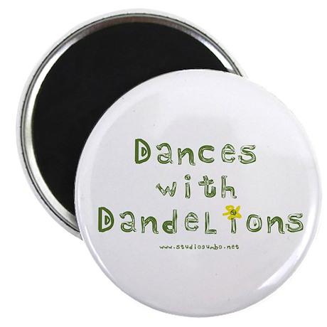 """Dandelion Dancer Gardener 2.25"""" Magnet (10 pack)"""