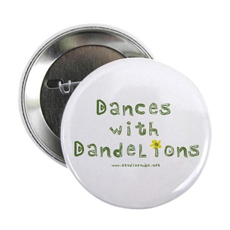 "Dandelion Dancer Gardener 2.25"" Button"