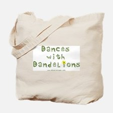 Dandelion Dancer Gardener Tote Bag