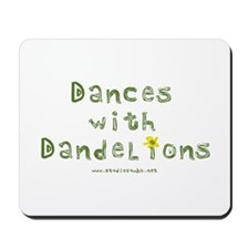 Dandelion Dancer Gardener Mousepad