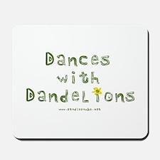 Dandelion Dancer Gardener Mousepad