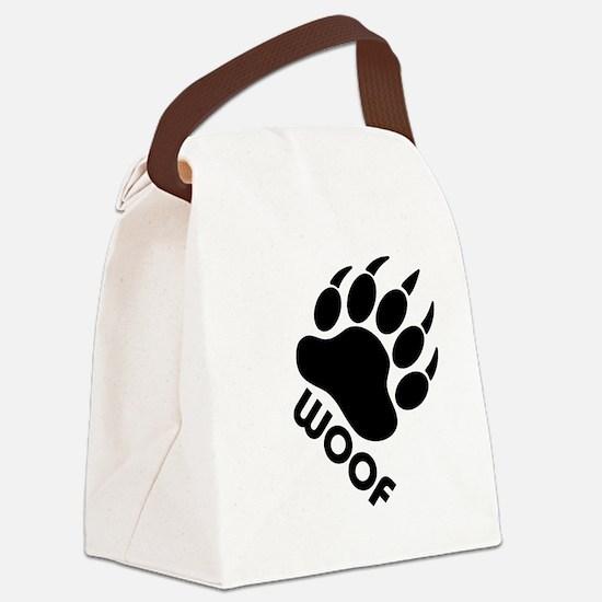 Cute Gay bear Canvas Lunch Bag