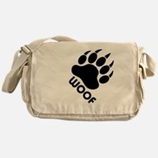 Cute Bear gay Messenger Bag