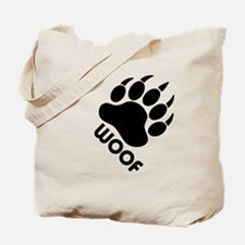Funny Woof Tote Bag